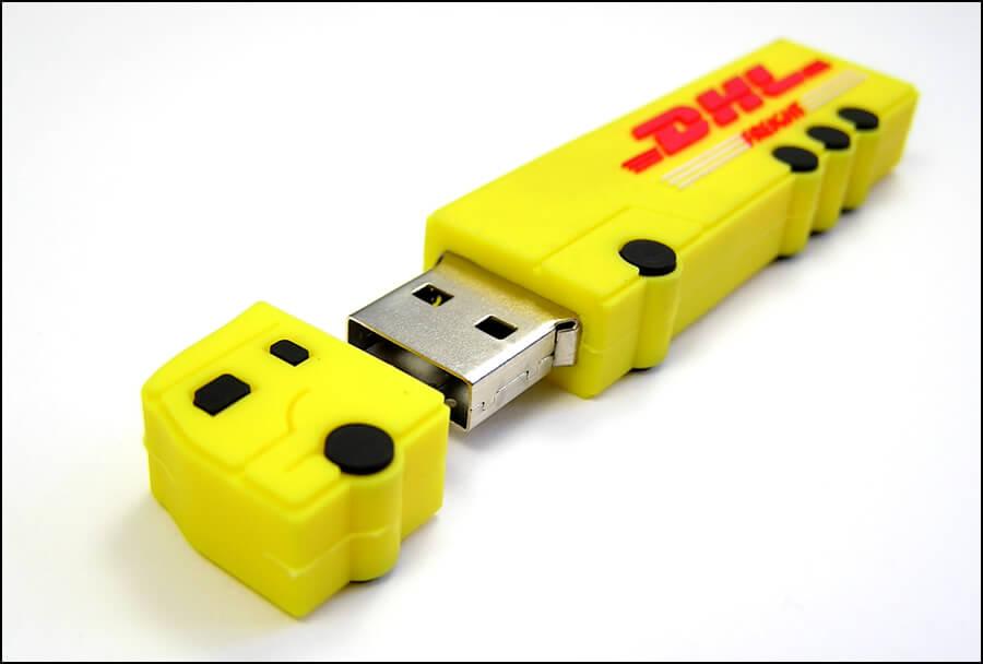 Výroba USB - kamion