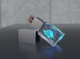 3D krystal USB flash disk - thumbnail - 1