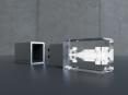 3D krystal USB flash disk - 12
