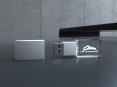 3D krystal USB flash disk - 18