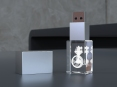 3D krystal USB flash disk - 20