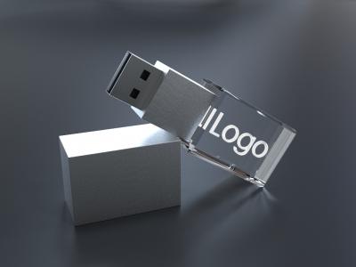 3D krystal USB flash disk